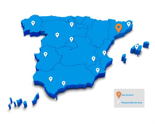 mapa ca